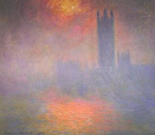 El Parlamento de Londres – C. Monet