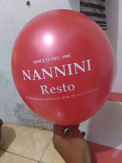 wahanaballoons menerima jasa balon sablon promosi