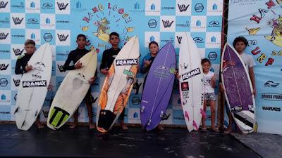 Atletas juniores da Ilha se preparam para a 2ª etapa do circuito Hang Loose de Surf Atack, em julho