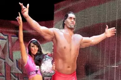 great khali wife house in india