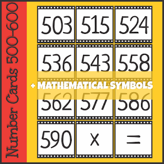 https://www.teacherspayteachers.com/Product/Number-Cards-500-600-3490566