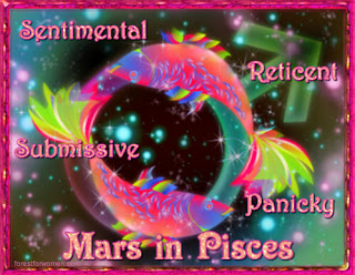 Description of Mars in Pisces - Forest for Women