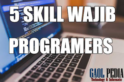 skill wajib programers