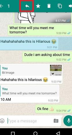 Begini Nih Cara membalas Pesan individu di WhatsApp 4