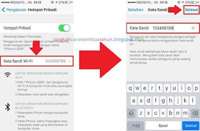 Cara Menghidupkan Hotspot di Iphone (semua tipe)