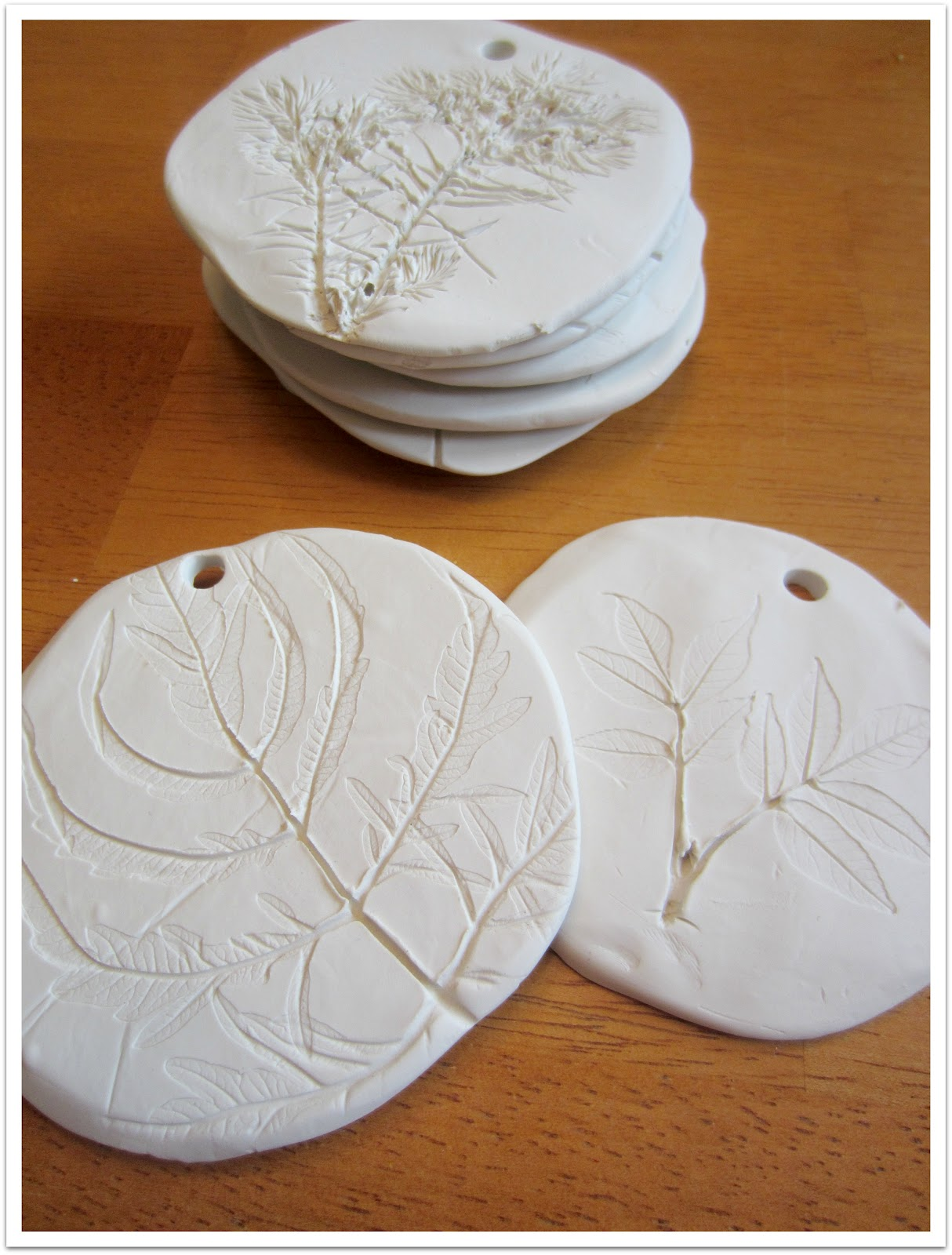 Relentlessly Fun Deceptively Educational Clay Leaf
