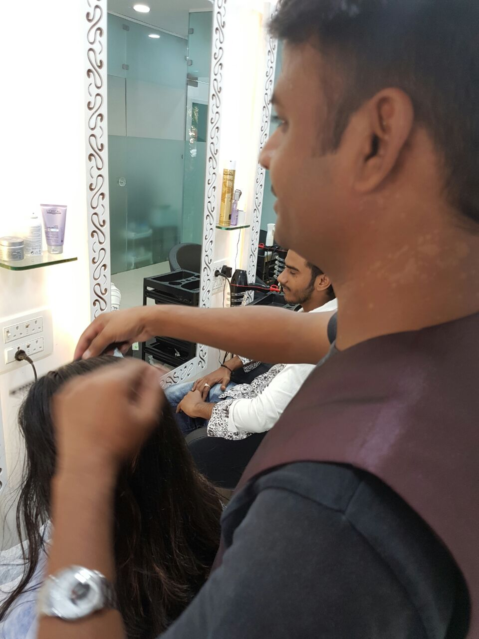unisex salon in mira road | manaal unisex salon