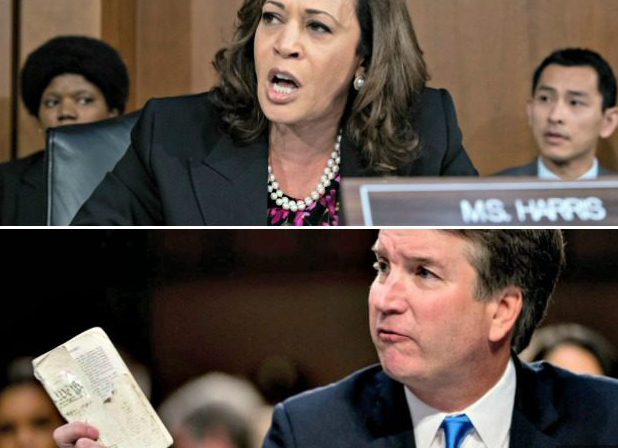 Kamala Harris Calls Kavanaugh's Pocket Constitution 'That Book You Carry' (VIDEO)