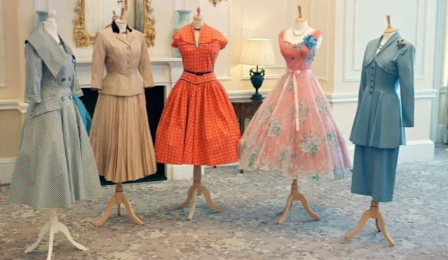 The new look 1950s dresses Great British Sewing Bee 2015