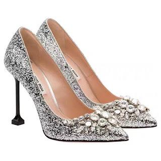 Pantofi cu toc MIU MIU