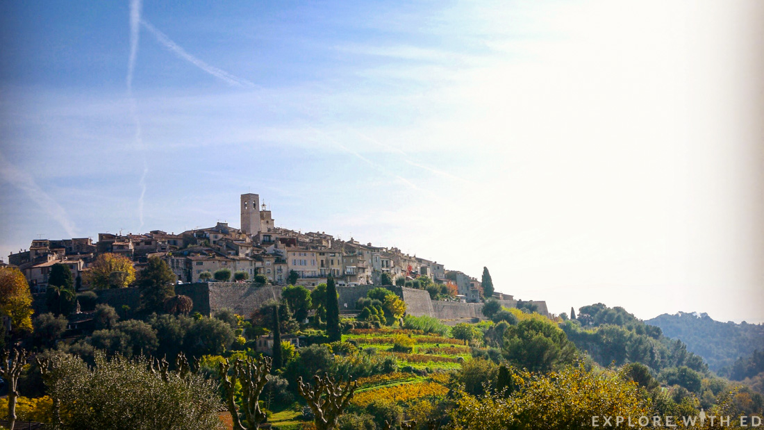 Saint Paul-de-Vence view