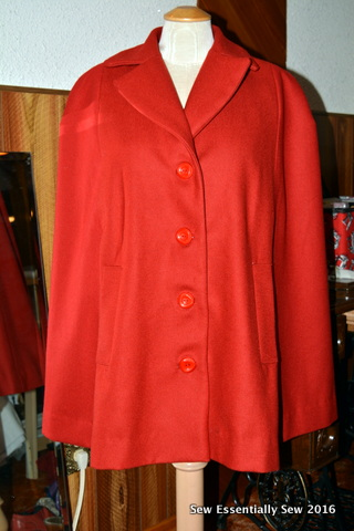 Sew Essentially Sew Modern Update To A Vintage Cape Pattern The