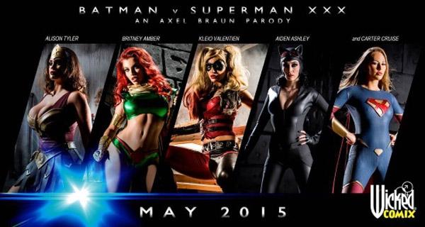 Chicas de Batman V Superman XXX: An Axel Braun Parody