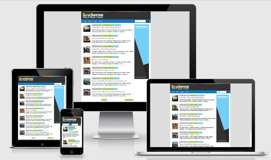 Brosense v3 Blogger Template Gratis