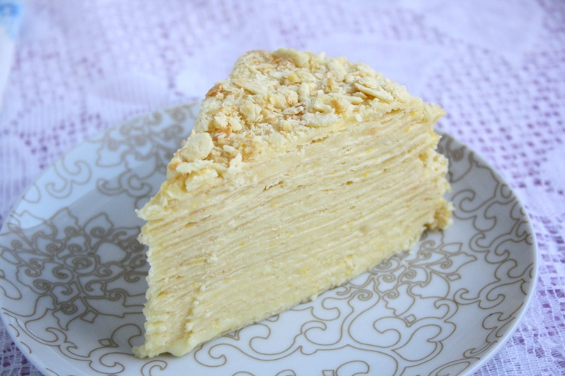 Napoleon Mille Feuille Cake Recipe