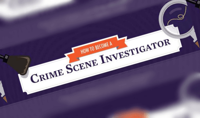 How To Become A Crime Scene Investigator Infographic