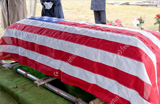 Us Burial Flag Application