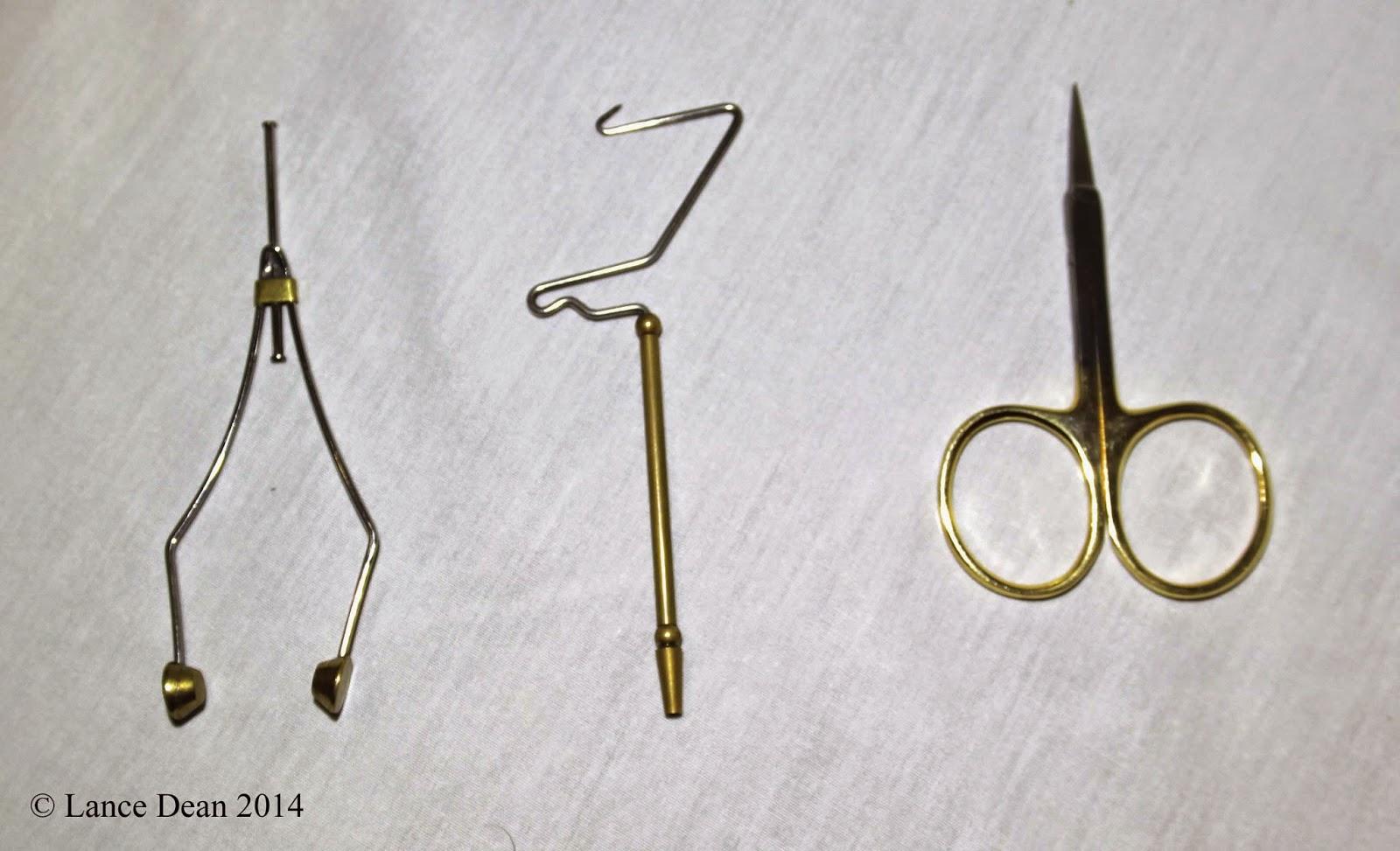 Bobbin, Whipfinisher, Scissors