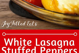 WHITE LASAGNA STUFFED PEPPERS