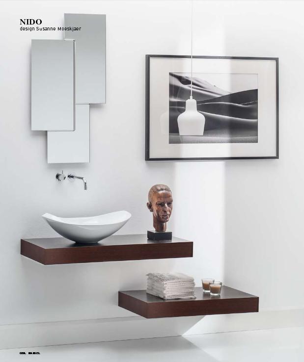 materiales de fábrica lavamanos diseño