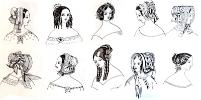 haircuts for pictures in search of chicken pot pie the 1840s fashionista 5849