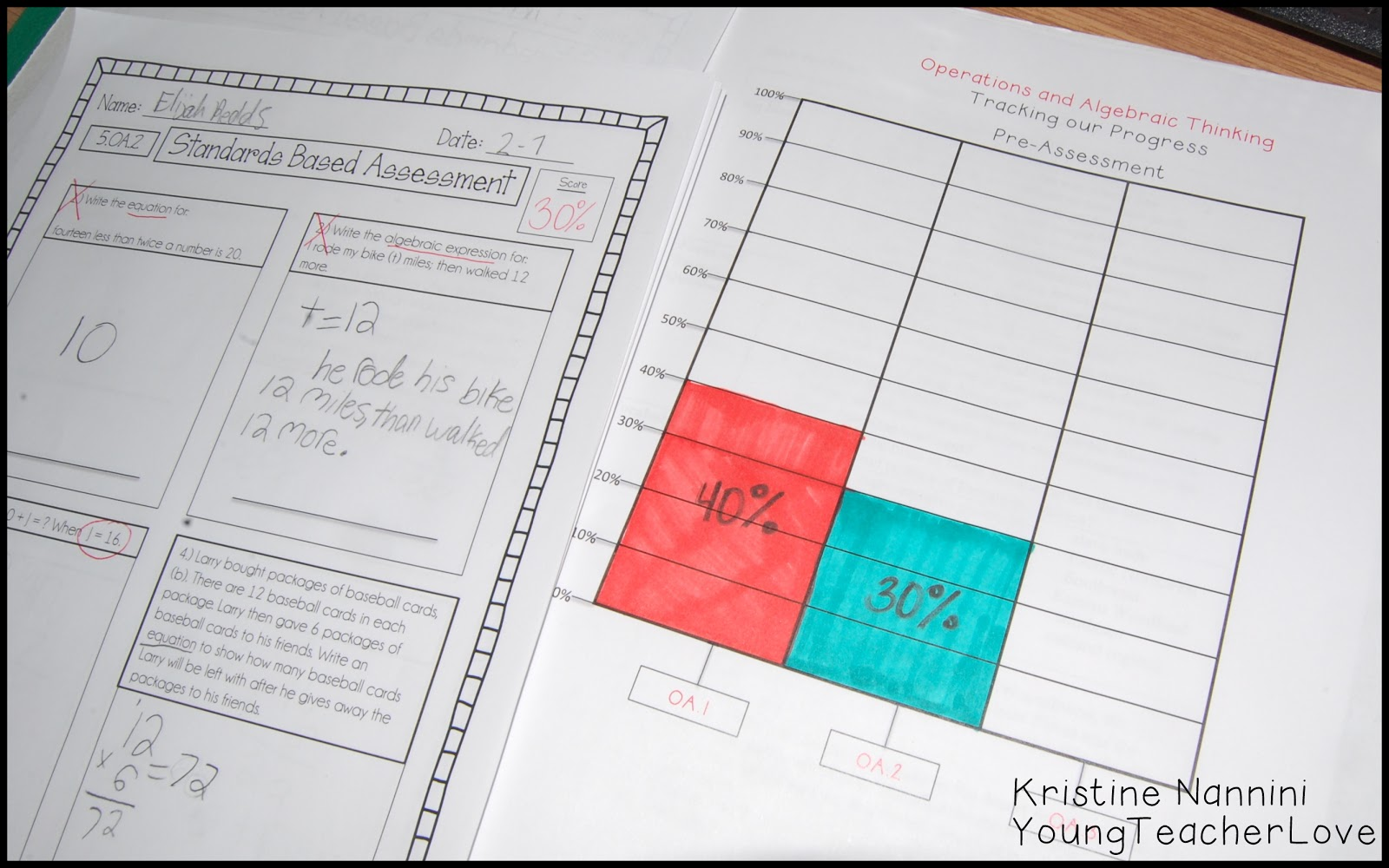 Young Teacher Love Implementing Student Data Tracking