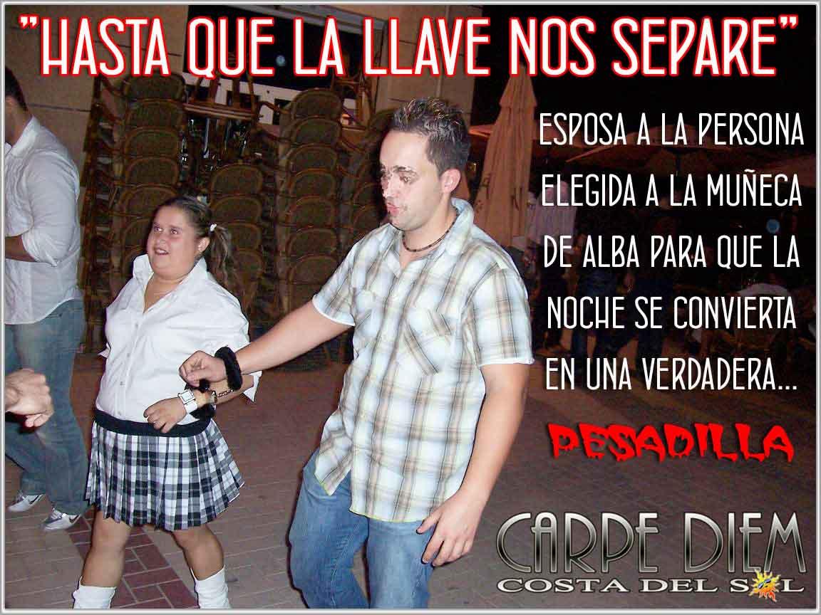Alba Colegiala zoyderpalo: alba chica latina. el palo, málaga.