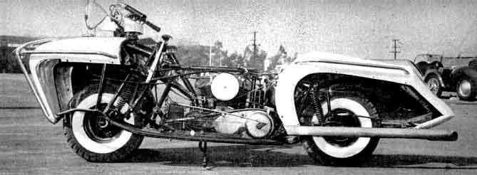 Courtney Enterprise Motorcycle