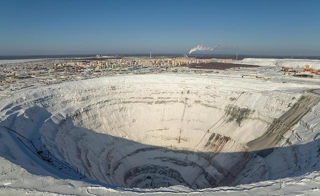 Mina de Mir no inverno