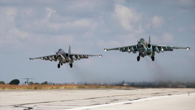 Rusia y Siria reanudan ataques antiterroristas en suroeste sirio