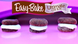 Easy Bake Oven Baking Mini Whoopie Pies