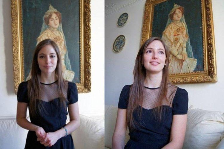 Lara Adra Osmanoğlu, Paris'te özel bir bankada çalışıyor.