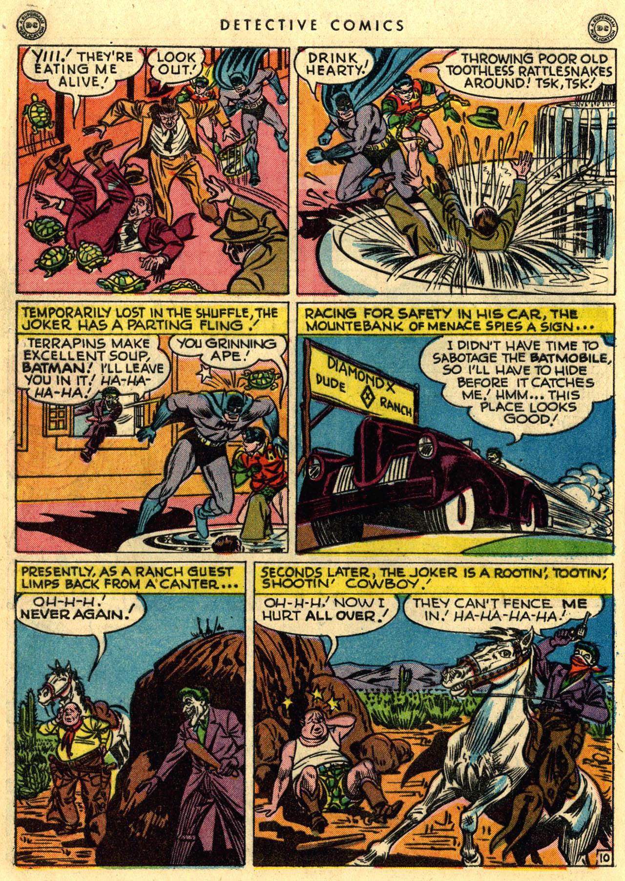 Read online Detective Comics (1937) comic -  Issue #118 - 12