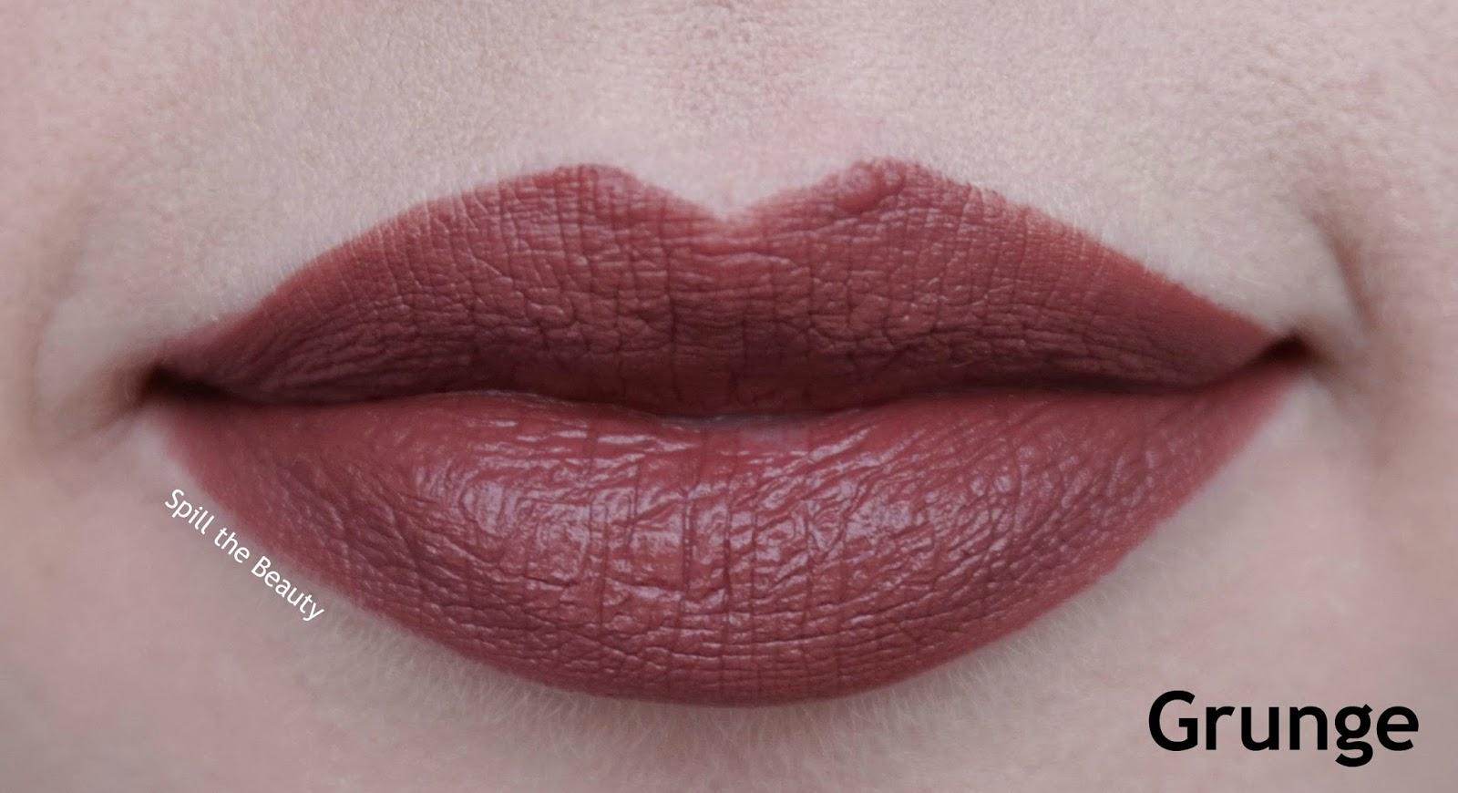 colourpop lippie stix review swatches grunge - lips