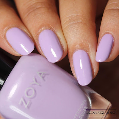 Nail polish swatch of Abby from the Zoya Bridal Bliss collection