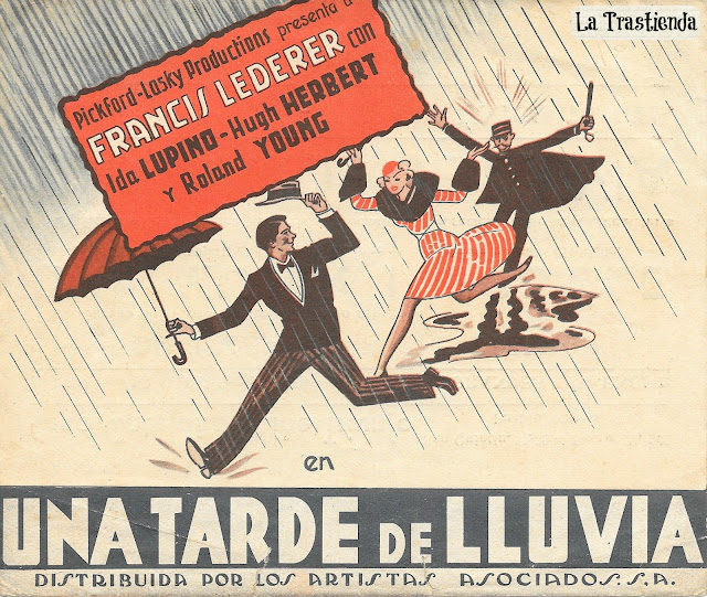 Programa de Cine - Una Tarde de Lluvia - Ida Lupino - Francis Lederer