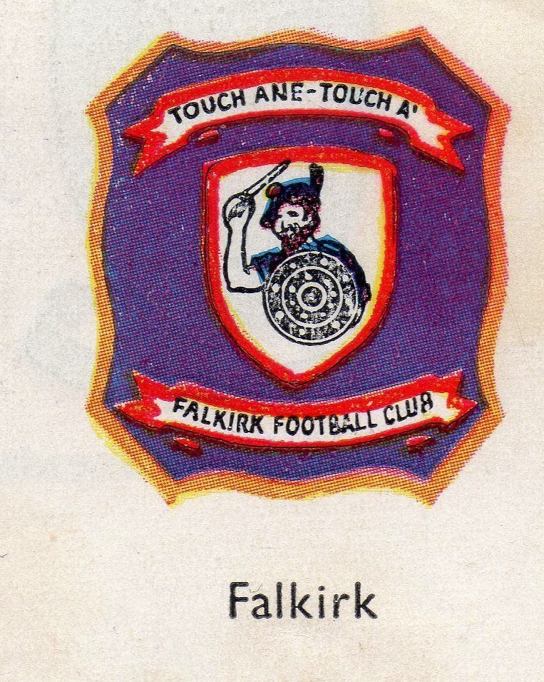 Football Clubs: Old Scottish Football: Club Badges 1959 Encyclopedia Of Sport