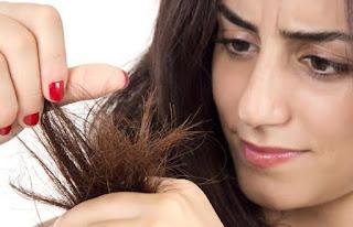 Ciri-ciri rambut rusak