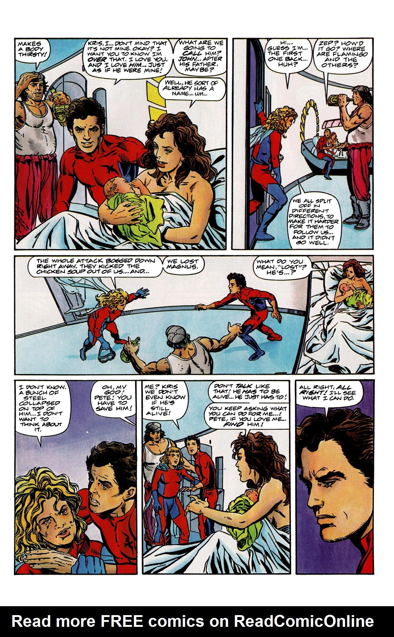 Read online Harbinger (1992) comic -  Issue #9 - 6