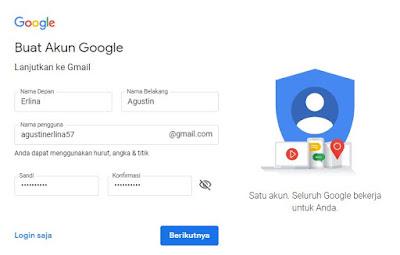 gmail, daftar, daftar gmail, email, buat email, buat gmail, google