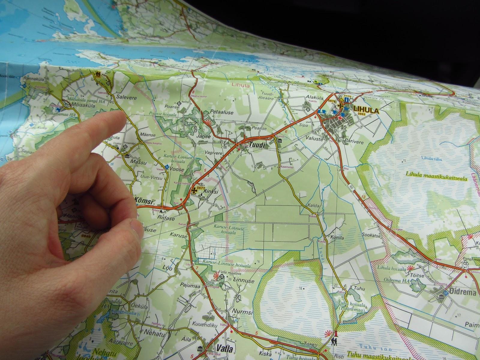 Matsalun kartta