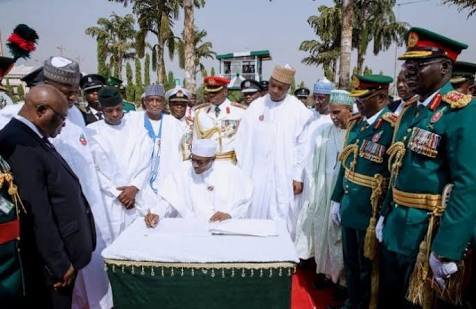 Buhari, Osinbajo, Others At Armed Forces Remembrance Day