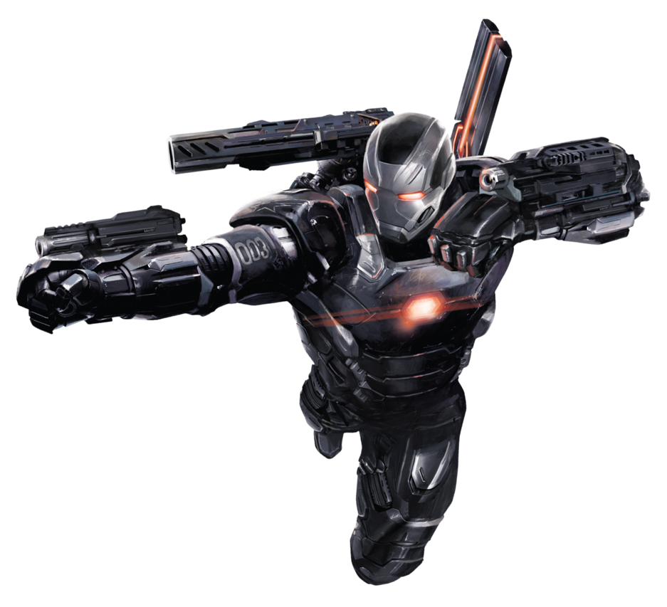 PNG Mquina De Combate War Machine Avengers Civil War Vingadores PNG World