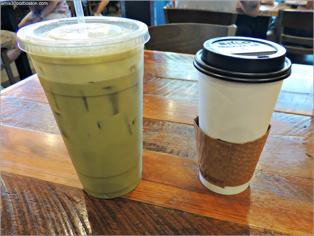 Matcha en Cafeterías de Boston: Pressed Cafe