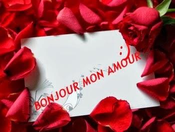 Les Messages Damour Sms Bonjour Mon Coeur