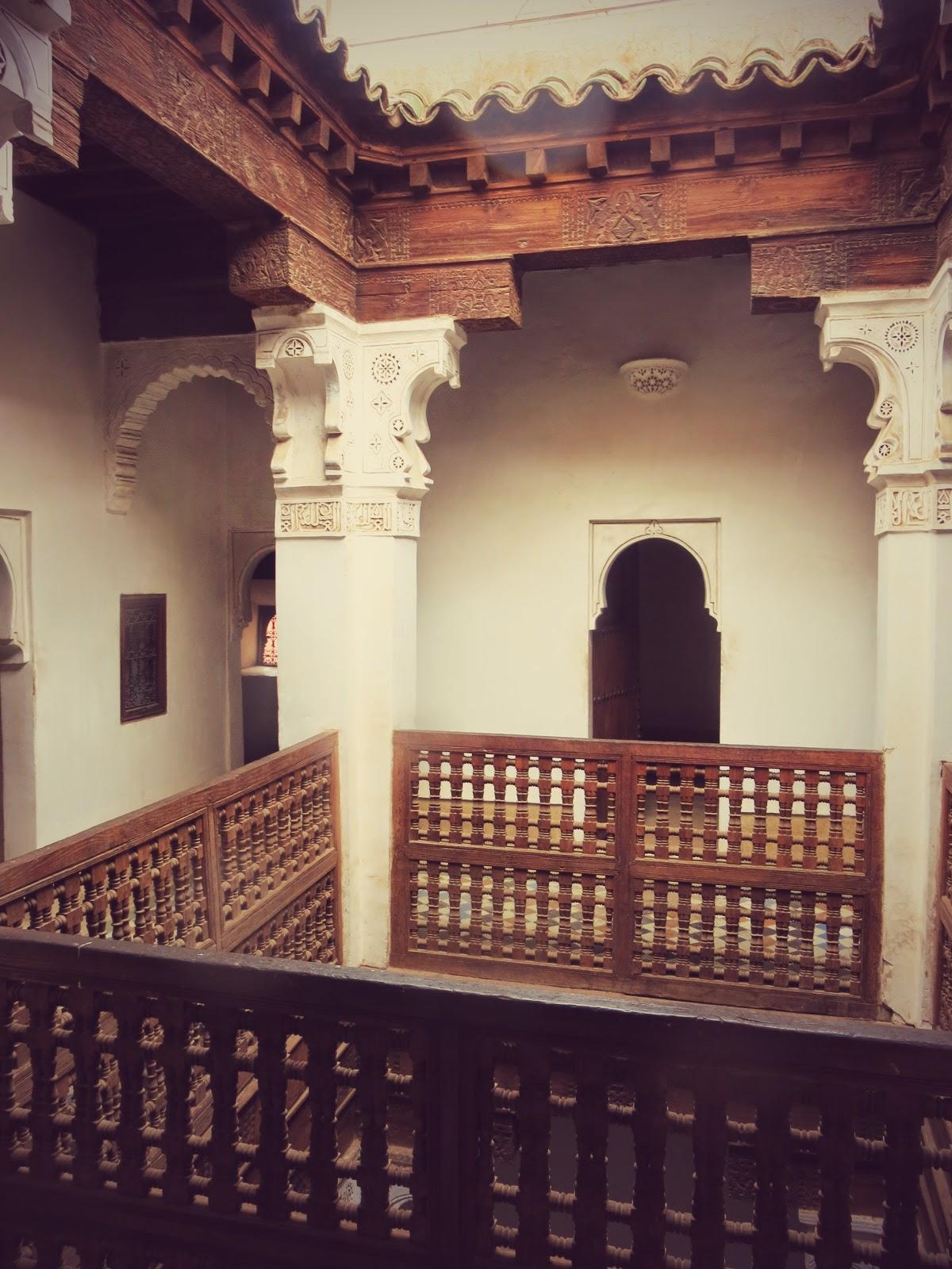 Koranskolan Ben Yussef Madrasa i Marrakesh