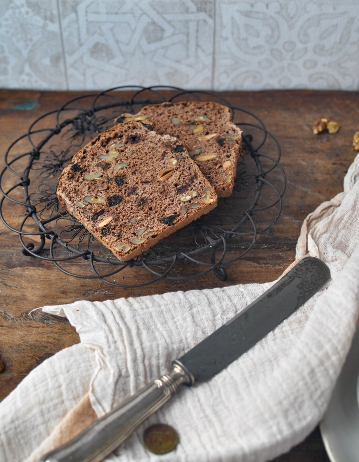 Sweet Walnut Bread, gluten free, not too sweet and just so good!