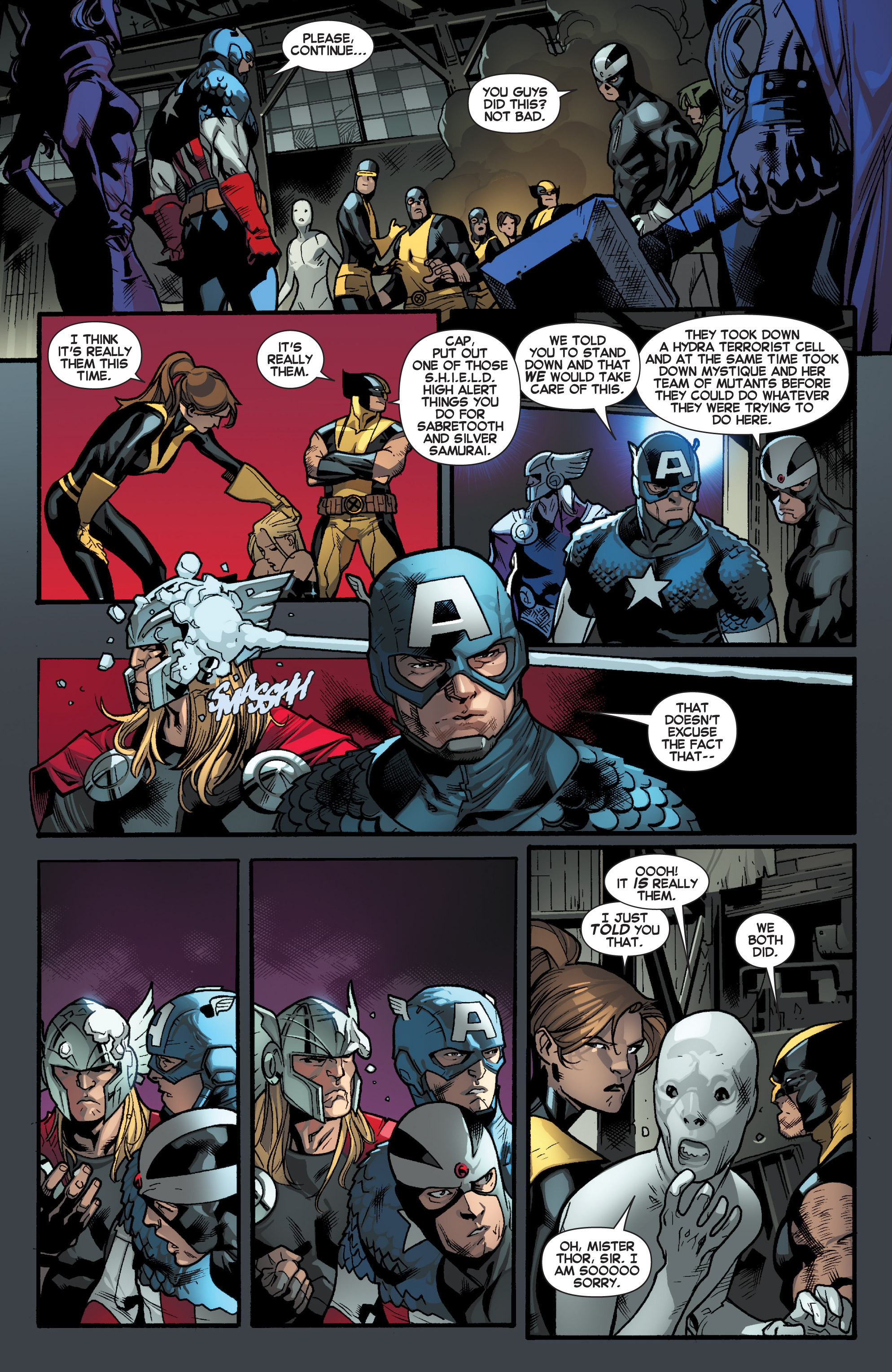 Read online All-New X-Men (2013) comic -  Issue # _Special - Out Of Their Depth - 83
