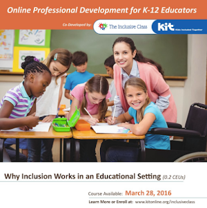 Online Inclusive Education Course!