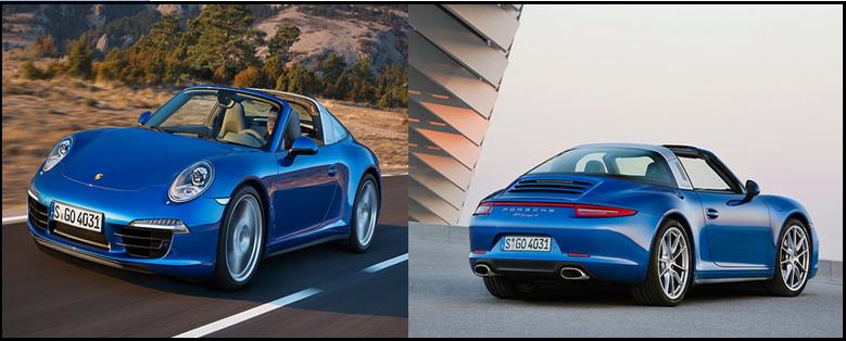 Porsche Launches New Model 911 Targa 4 And 4s